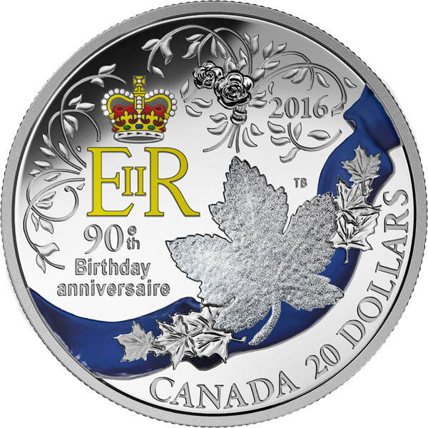 1 oz 99.99/% Pure Silver Coin Her Majesty Queen Elizabeth II The Young Princess